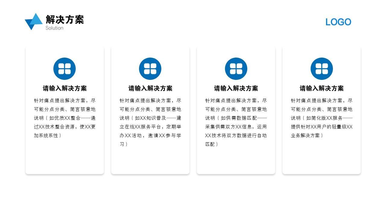 科技環保智能回收垃圾分類項目創業商業計劃書PPT模板-解決方案